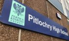 Muti-million pound improvement works to Pitlochry High School have been significantly impeded by the pandemic.