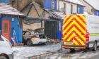 Police are investigating -after a fire damaged property on Alexander Drive, Oudenarde.