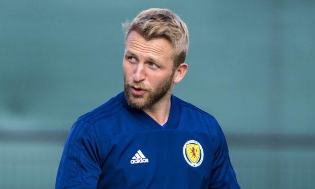 EDINBURGH, SCOTLAND - SEPTEMBER 8: Scotland's Johnny Russell during a Scotland training session at Oriam, on September 8, 2019, in Edinburgh, Scotland. (Photo by Alan Harvey / SNS Group)