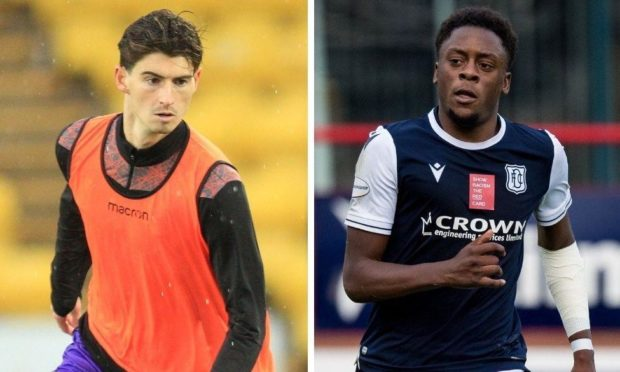 Dundee United midfielder Ian Harkes has shown his support for Dundee kid Jonathan Afolabi.