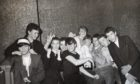 A group of revellers at an under-18s night at Club Feet in 1982.