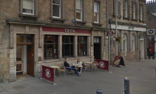 One of the offences took place at Costa in Market Street, St Andrews. (Library image).