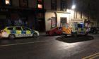 Police on Baffin Street.