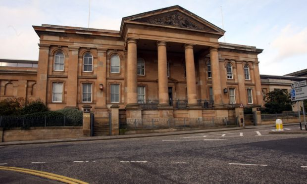 The case was called at Dundee Sheriff Court.