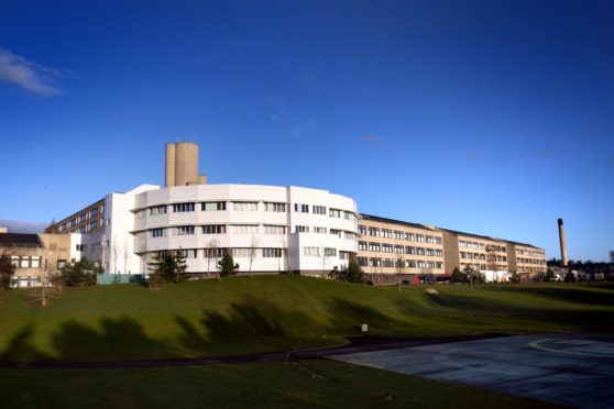 Non-patient-facing members of staff at NHS Tayside say they do not feel safe going into work