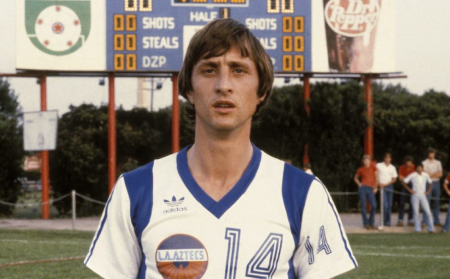 Johan Cruyff during his time at the L.A. Aztecs, America - 1979.