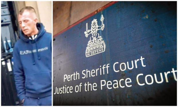 Souness Clark appeared at Perth Sheriff Court.