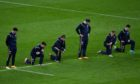 Some players from both sides took the knee, while others didn't, before Scotland's Six Nations win over England at Twickenham last weekend.