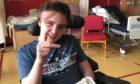 Kieran Lamond is progressing well in hospital