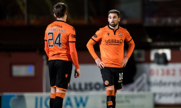 Lawrence Shankland and Nicky Clark have been Dundee United's main men up front.