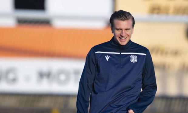 Dundee new boy Jason Cummings.