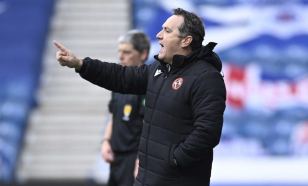 Dundee United boss Micky Mellon takes his team to Kilmarnock today.