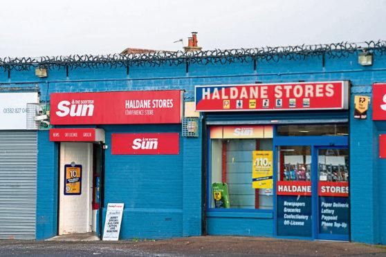 Haldane Stores on Haldane Avenue.