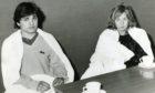 Plane crash survivors Rico Eusebi and Julie Hanson.