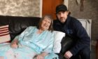 Elizabeth Munro from Invergowrie with her grandson Barry Mann