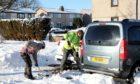 Invertay Homes dig snow