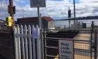 Harecraig Level Crossing in Broughty Ferry