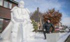 Douglas Roulston with the Snowmandalorian.