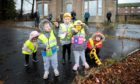 Some of the youngsters looking forward to the nursery's redevelopment