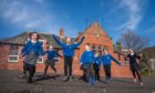 Abernyte Primary pupils were delighted to be reunited at school.