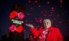 Montrose Poppy Scotland team member Sadie Gillespie at the launch of the 2021 Poppy Pledge.