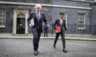 Prime Minister Boris Johnson and Chancellor of the Exchequer Rishi Sunak.