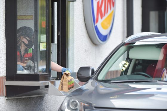 A new Burger King drive-thru could be built in Dundee.