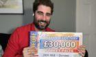 People's Postcode Lottery Ambassador Matt Johnston.