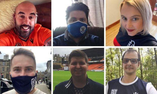 Clockwise, from top left: Craig David, Kieran Clark, Danielle Ormond, Arran Hill, Ben MacDonald and Gary Cocker.