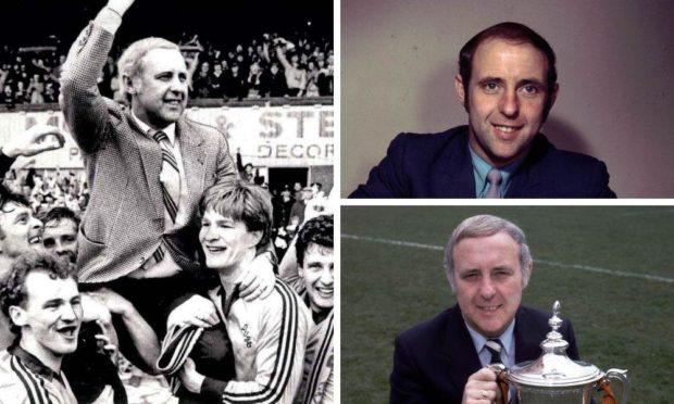 Dundee United legend Jim McLean.
