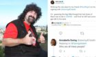 The Twitter exchanges involved Mick Foley, Big Show and Annabelle Ewing.