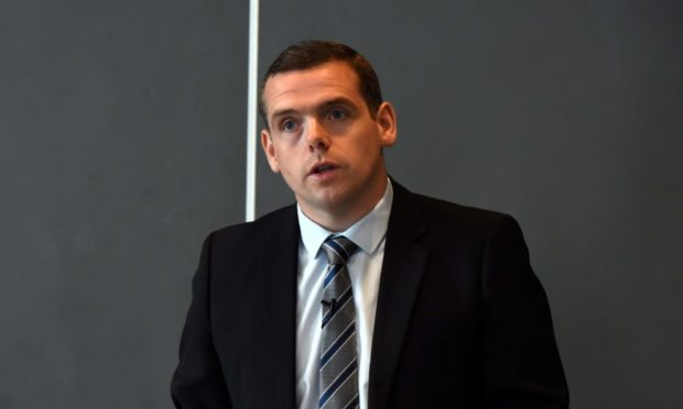 Scottish Conservatives leader Douglas Ross.