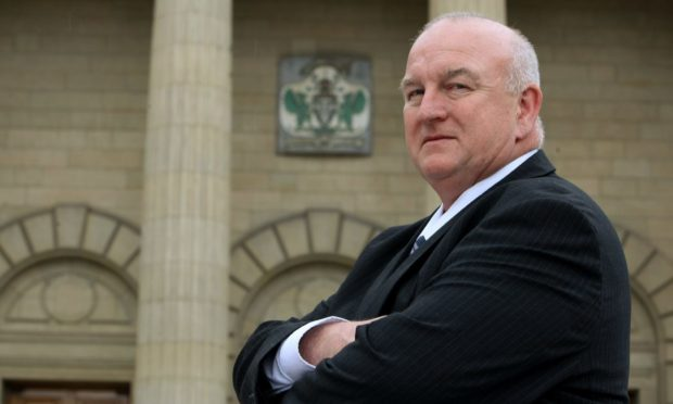 Labour group leader councillor Kevin Keenan.