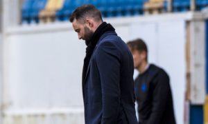 Dundee manager James McPake endured another tough day at the office at Morton on Saturday.