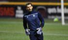 Dundee goalkeeper Adam Legzdins.