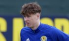 EDINBURGH, SCOTLAND - MARCH 22: Scotland's Jack Hendry during a Scotland training session at Oriam, on March 22, 2021, in Edinburgh, Scotland. (Photo by Craig Williamson / SNS Group)? **Please note that these images are FREE for FIRST USE.**