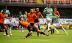 Dundee United welcome Celtic to Tannadice tomorrow.