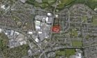Image of proposed site at Ballindean Road, Dundee.