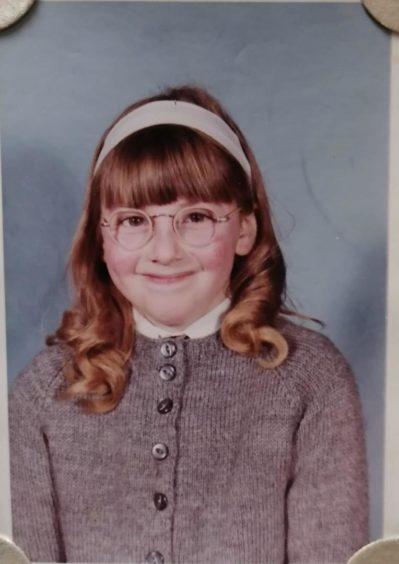 Jane Leitch aged 10.