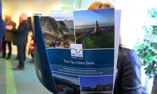 The Tay Cities Deal was signed in December 2020.