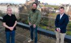 Paddy Burns, Chris van der Kuyl and Gavin Anderson.