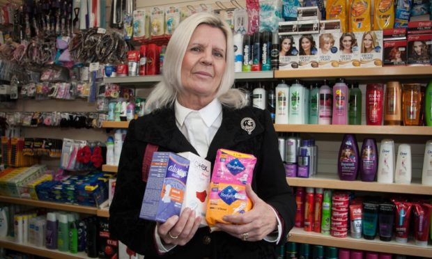 Kate Stewart campaigned against period poverty.