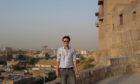 Craig Cowan in Erbil, Iraq.
