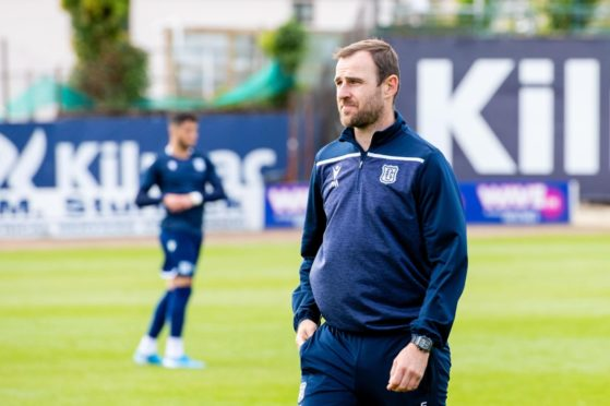 Dundee assistant boss Dave Mackay.