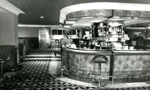 Sinatra's was hugely popular in Dundee after opening in 1981.