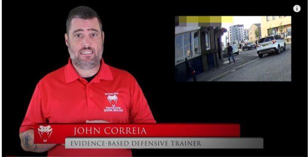 John Correia analysing the footage.