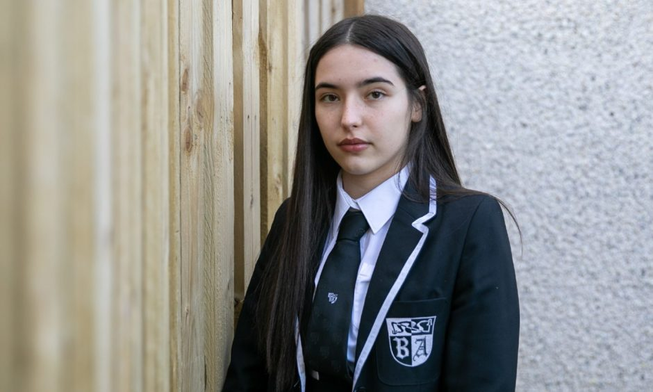 Baldragon Academy pupil Deni McGurty's petition has gathered widespread support.
