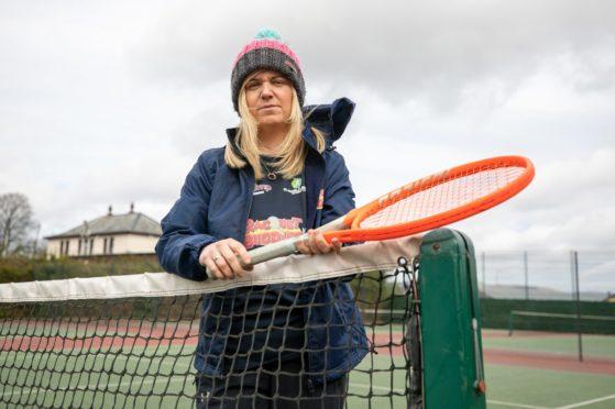 Tennis coach Hayley Donnelly.