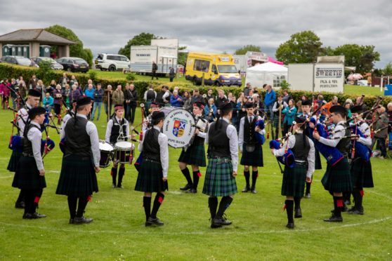 Markinch Highland Games was last held in 2019.