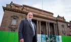 Perth and Kinross Council leader Murray Lyle at Perth City Hall